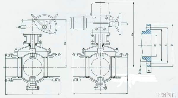 电动三通球阀|球阀系列-上海正钢阀门,气动v型球阀,锻