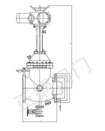 电动防结晶阀产品结构图